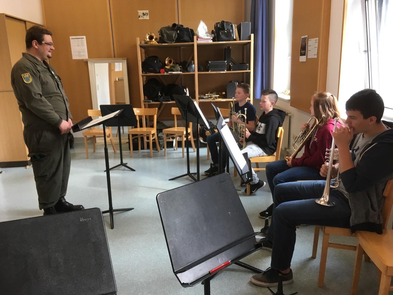 Probentag des JBO bei der Militärmusik NÖ 23. April 2019