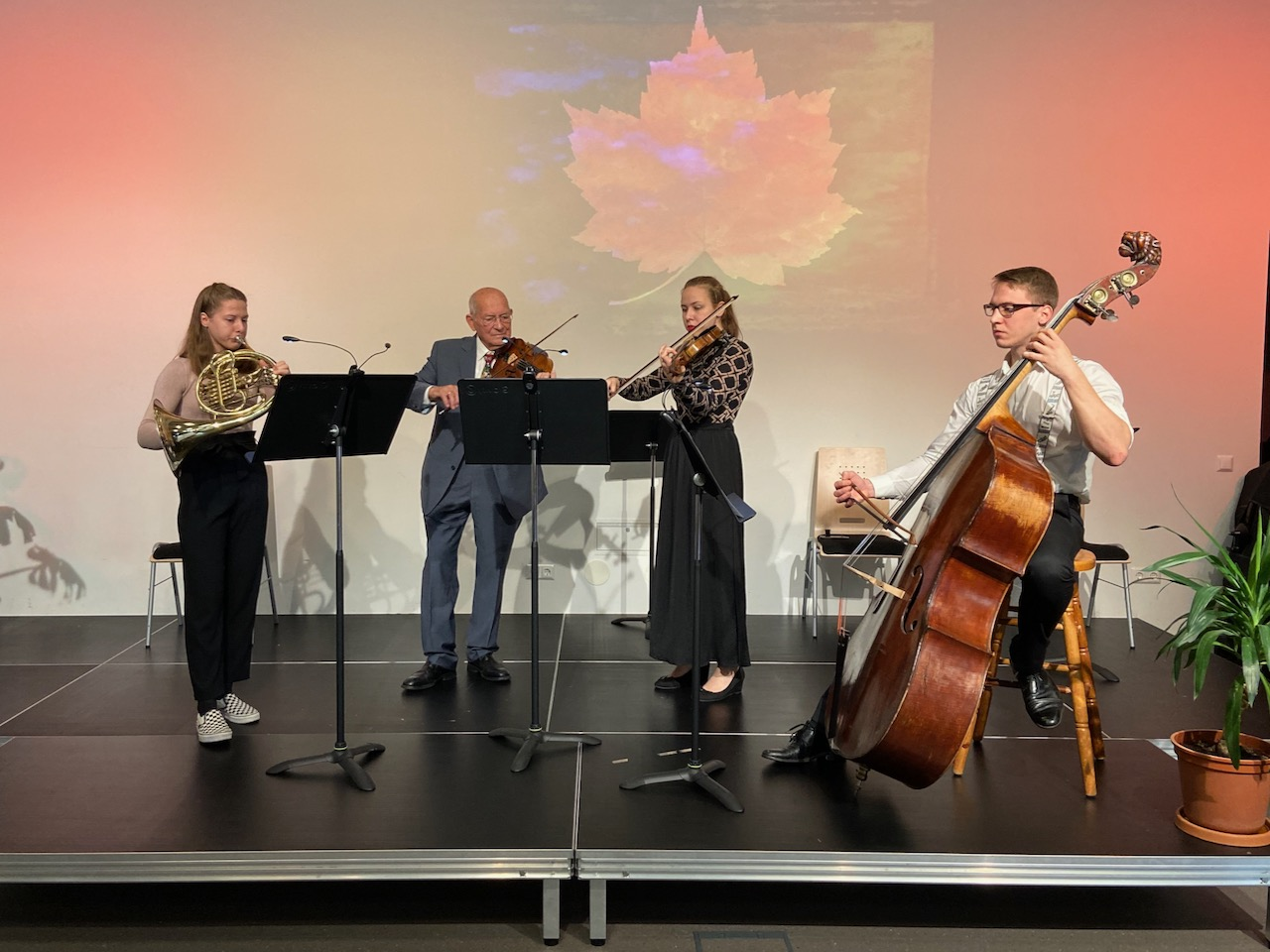 "Konzert mit dem ""Straka-Ensemble"" am 3. November 2019"