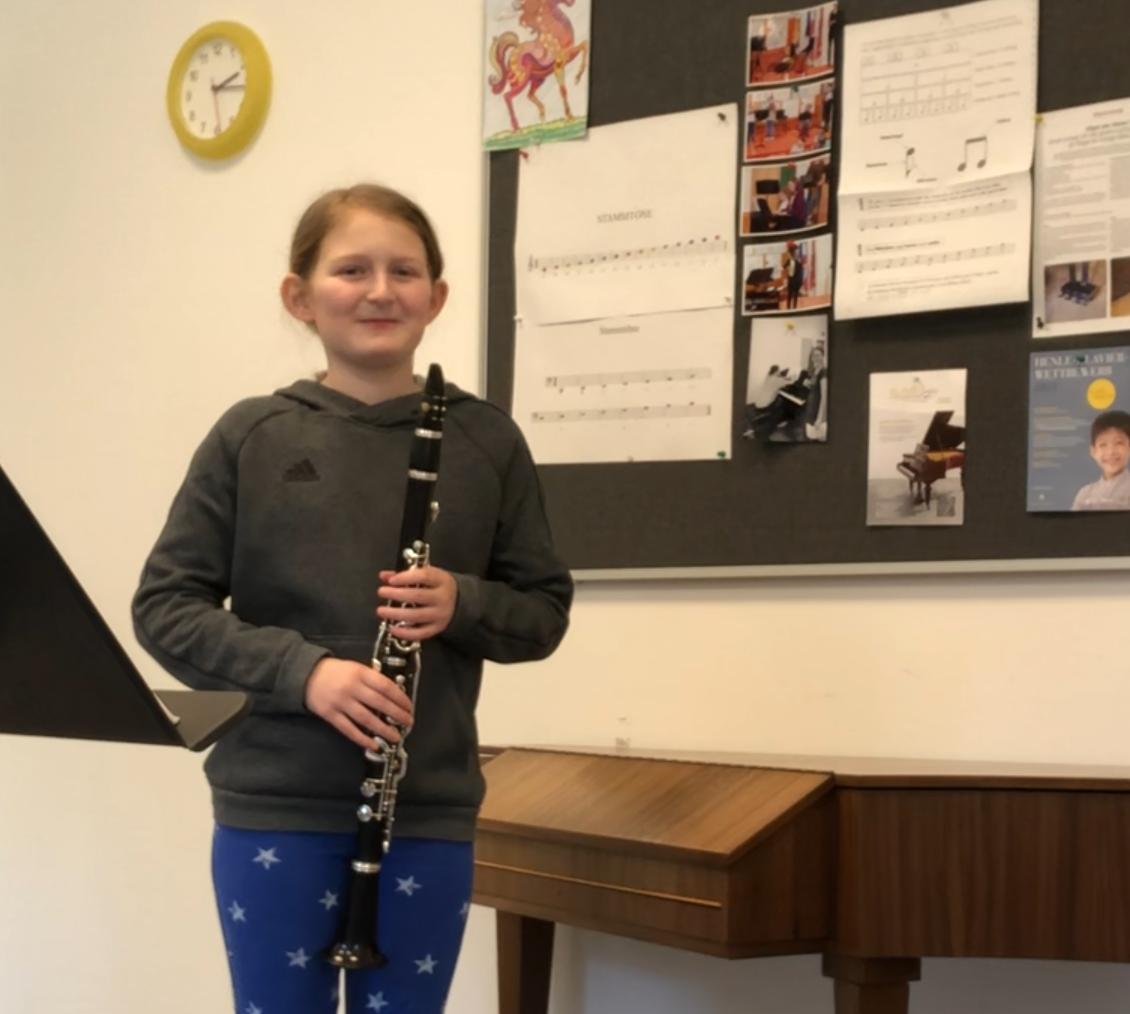 Karoline und ihre Klarinette