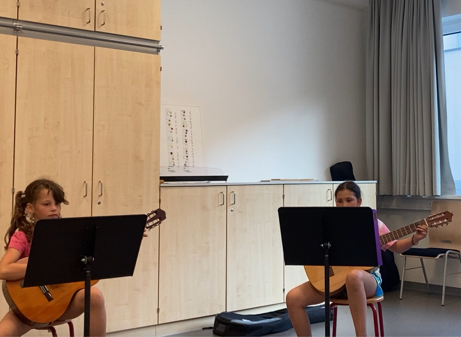 Gitarrentrio der Klasse Silvia Pichlbauer
