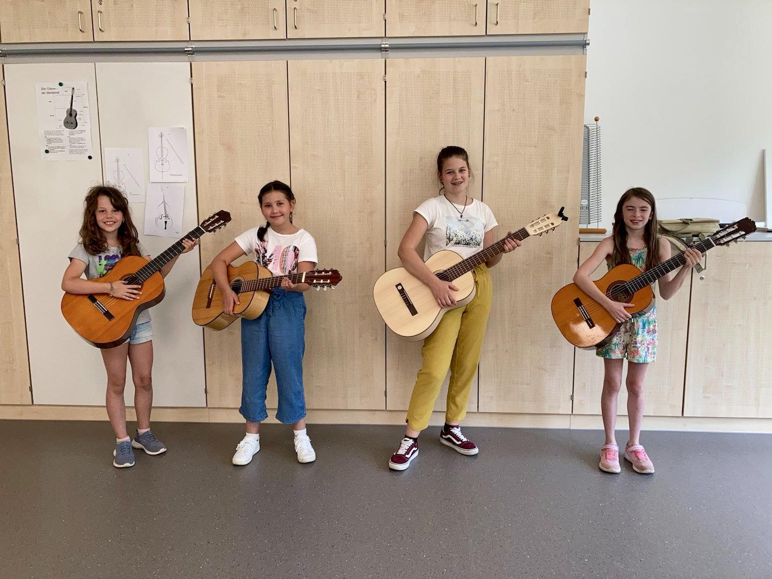 Elementarprüfungen Gitarre